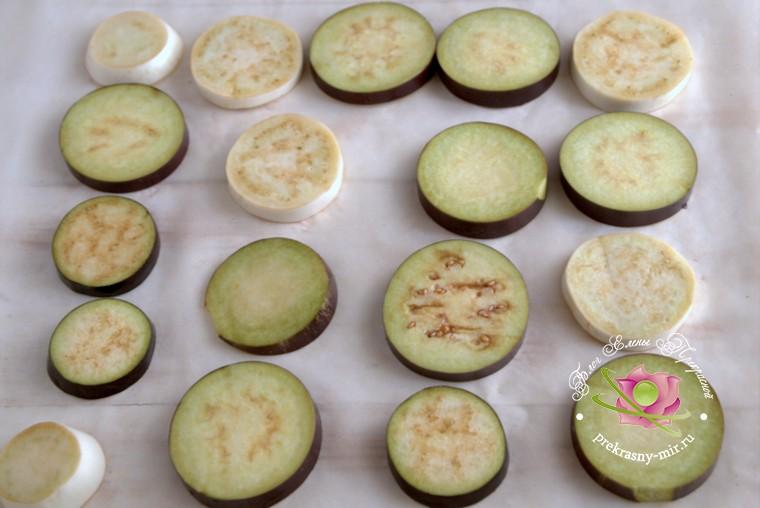 вяленые баклажаны с базиликом рецепт