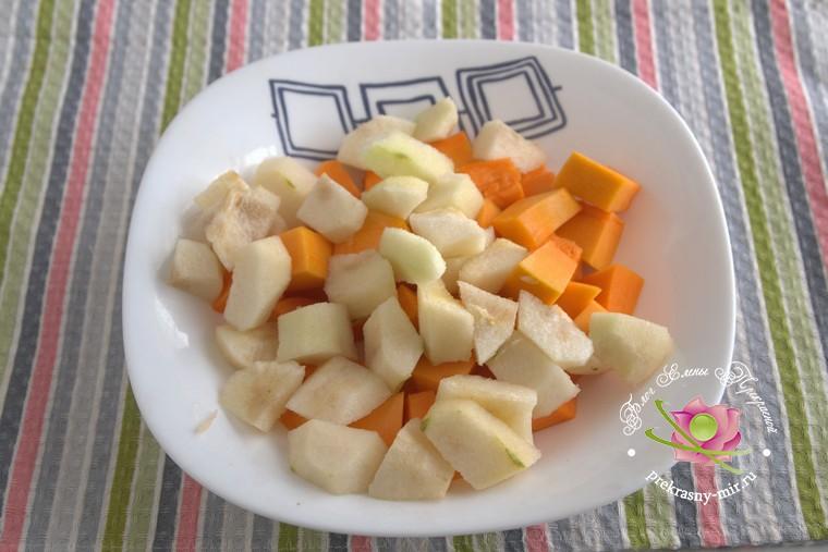 грушевый джем с тыквой и имбирем приготовление