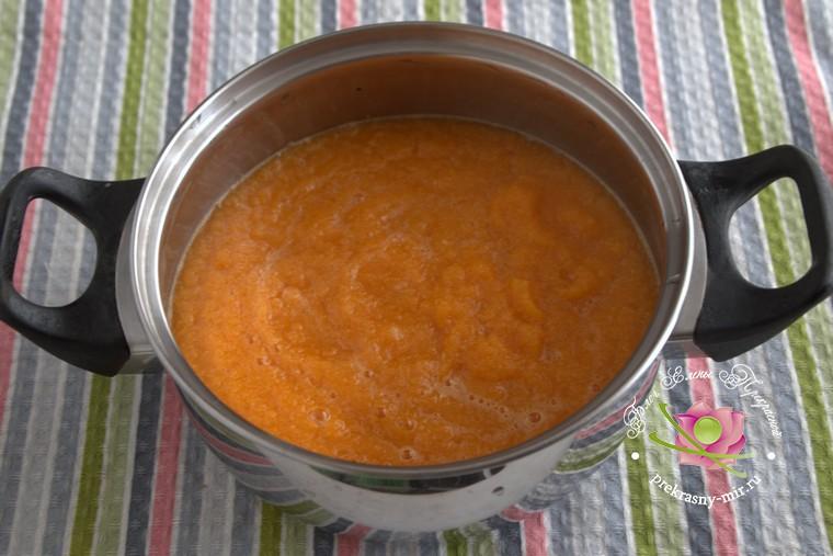 грушевый джем с тыквой и имбирем рецепт