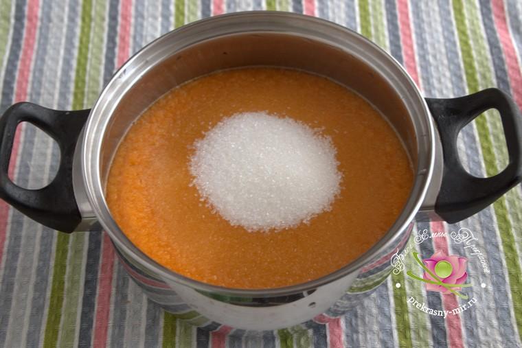 грушевый джем с тыквой и имбирем рецепт с фото