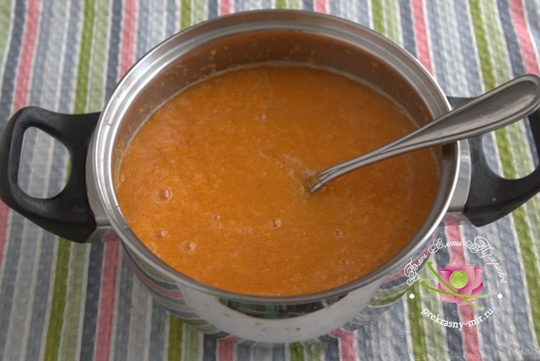 грушевый джем с тыквой и имбирем рецепт в домашних условиях