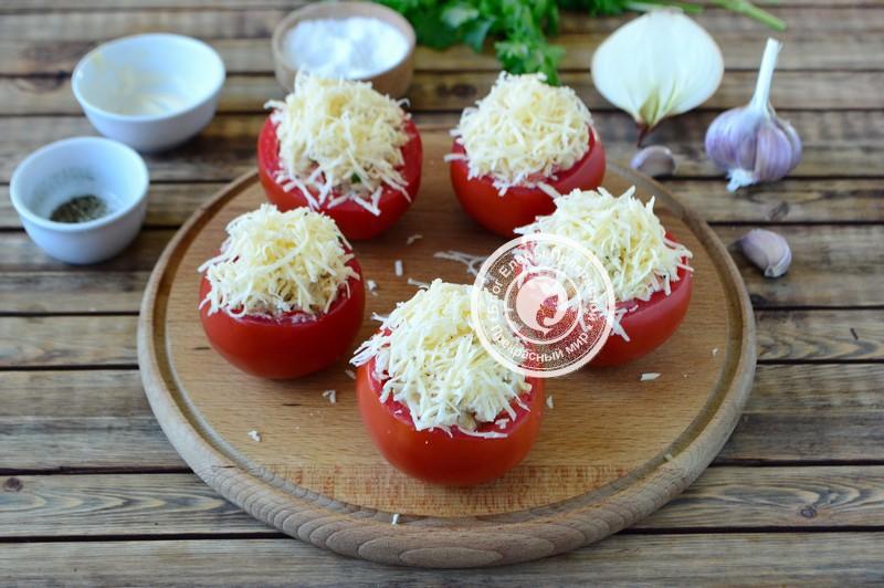 помидоры фаршированные курицей рецепт в домашних условиях