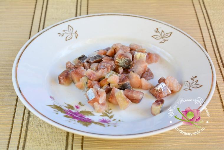 новогодний салат с селедкой рецепт в домашних условиях