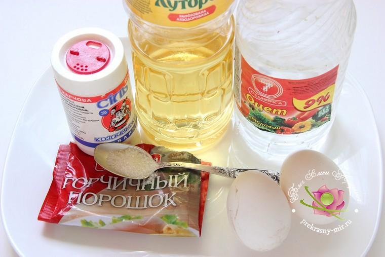 домашний майонез рецепт продукты