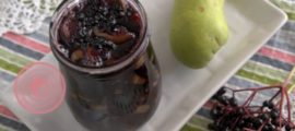варенье из груш и бузины