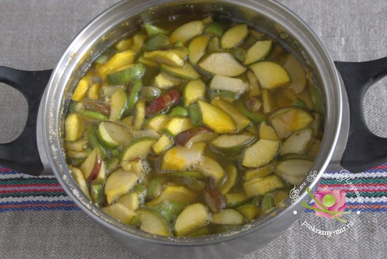 как приготовить грушевое варенье с куркумой рецепт
