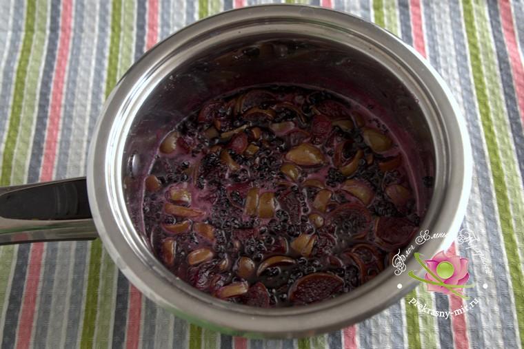 варенье из груш и бузины фото рецепт в домашних условиях