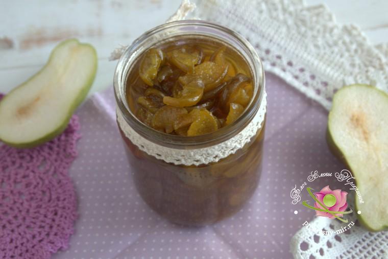 грушевое варенье с куркумой рецепт с фото