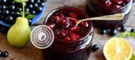 Варенье из черной смородины и груш рецепт в домашних условиях