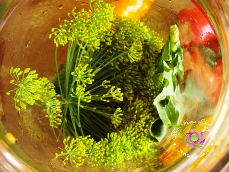 консервированное ассорти из овощей рецепт в домашних условиях