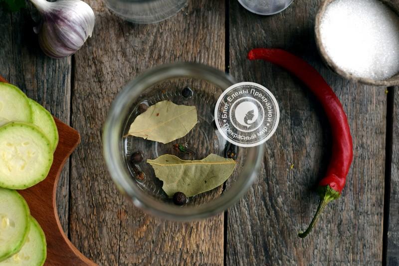 Острые кабачки на зиму рецепт