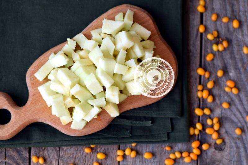 Джем из яблок и облепихи рецепт