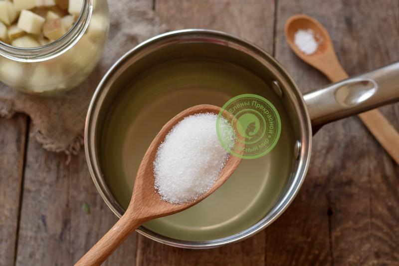 груша в сиропе на зиму рецепт