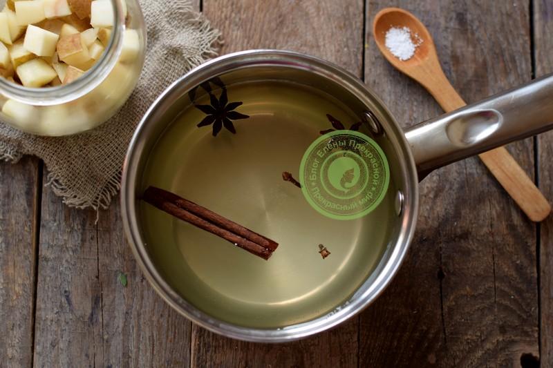 груша в сиропе на зиму рецепт с фото