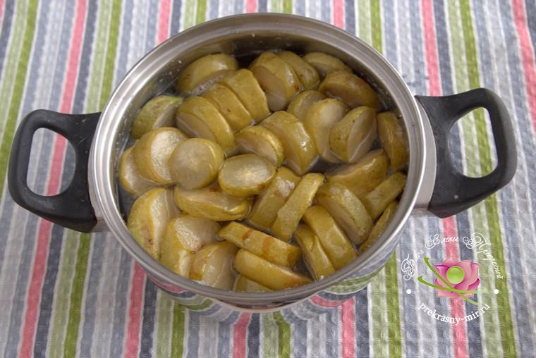 рецепт сухого грушевого варенья рецепт с фото