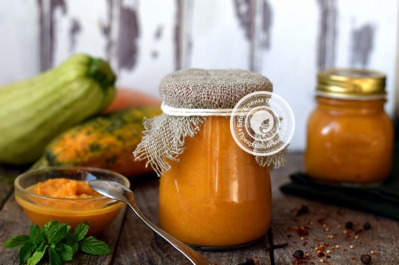 Кабачковая икра из печеных овощей на зиму: рецепт в домашних условиях