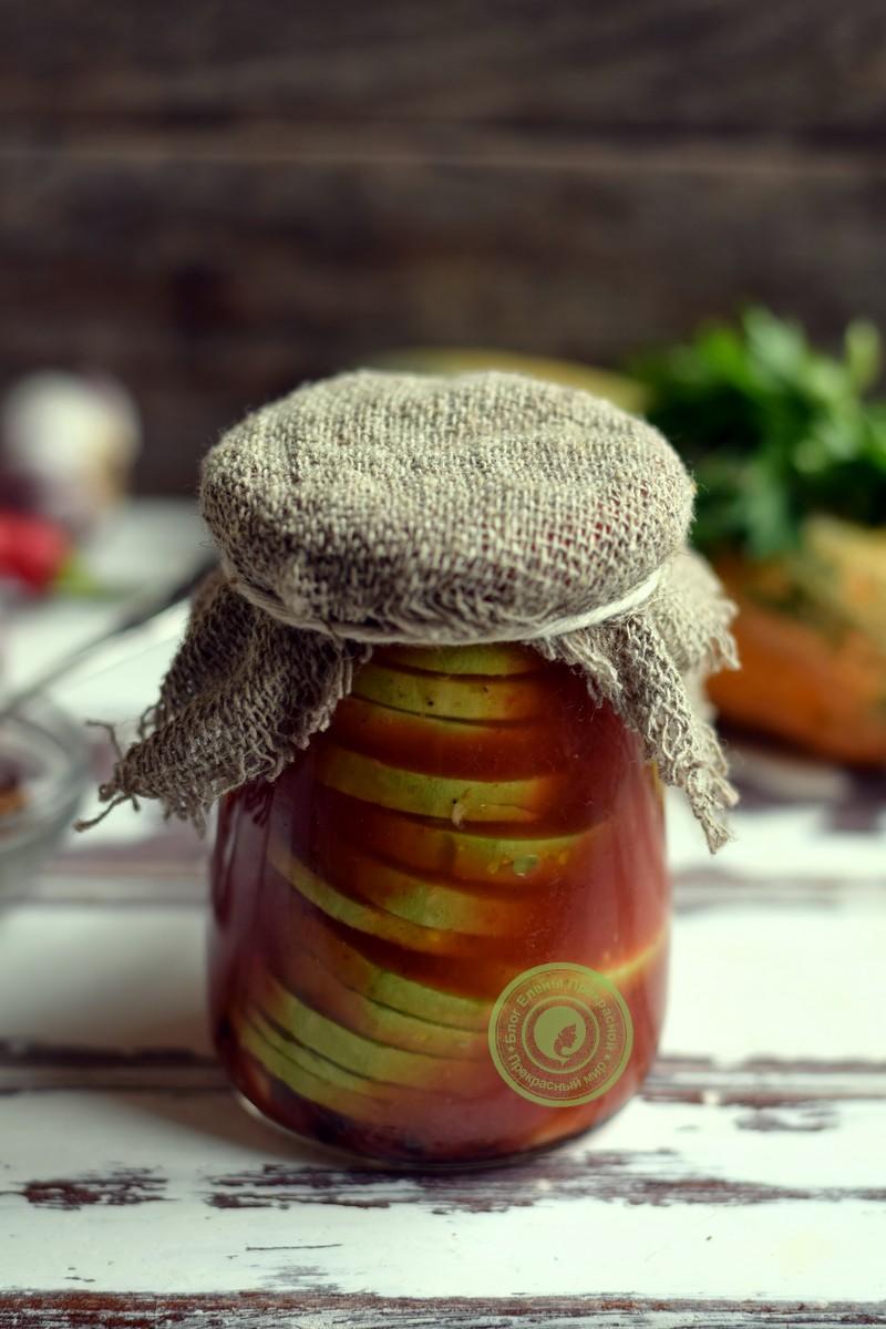 Острые кабачки в маринаде рецепт в домашних условиях