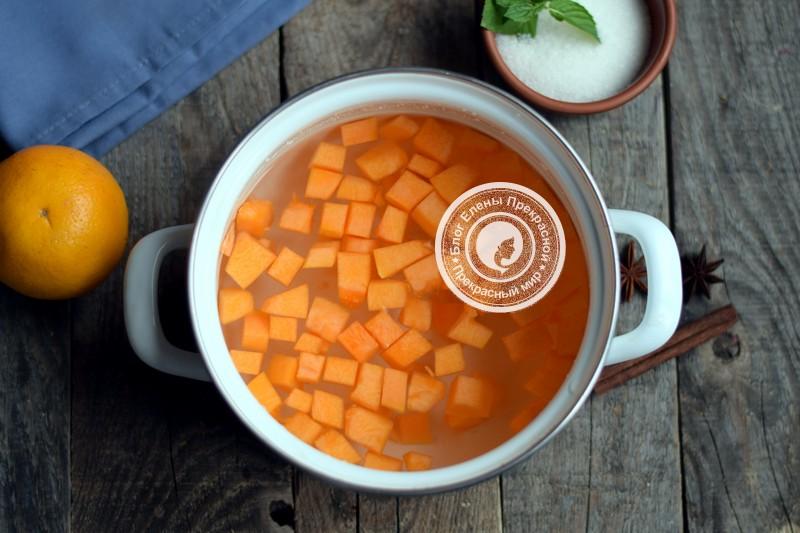 компот из тыквы с апельсином рецепт