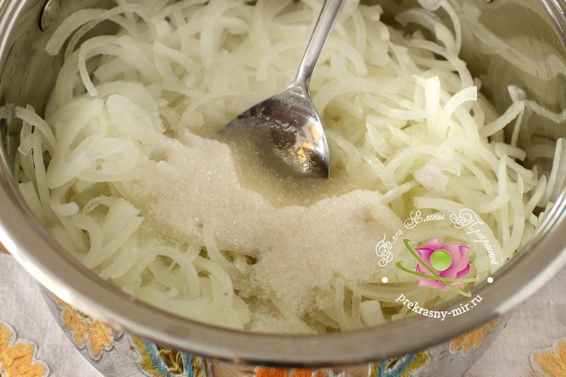 Маринованный лук к шашлыку рецепт с фото в домашних условиях