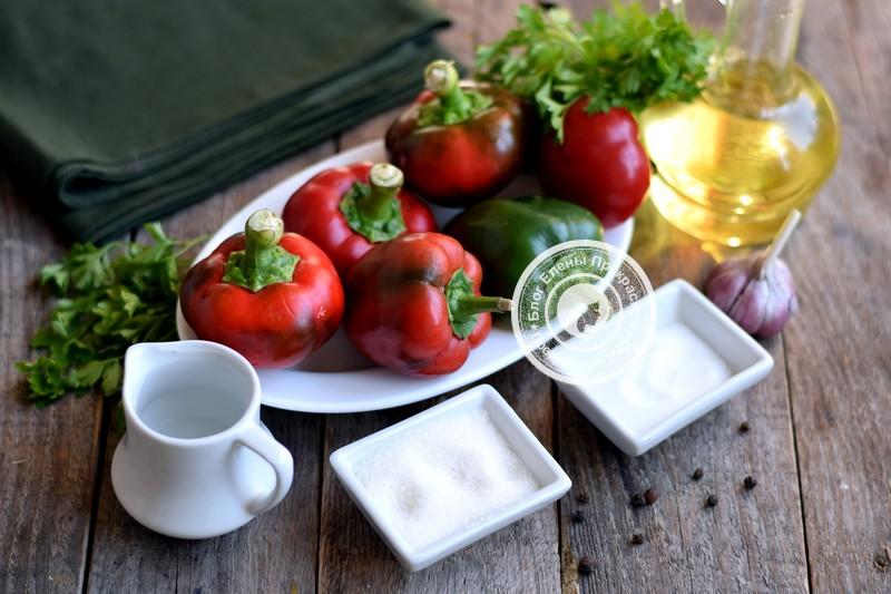 маринованный болгарский перец соломкой на зиму