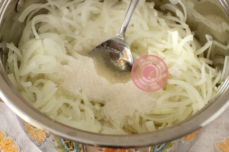 Маринованный лук к шашлыку рецепт