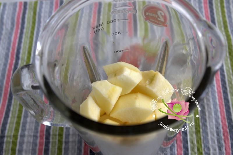 Облепихово-яблочный мармелад на зиму