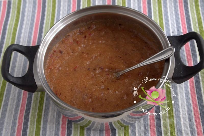 Сливово-яблочный мармелад на зиму рецепт в домашних условиях