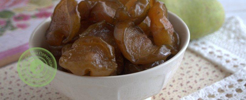 рецепт сухого грушевого варенья