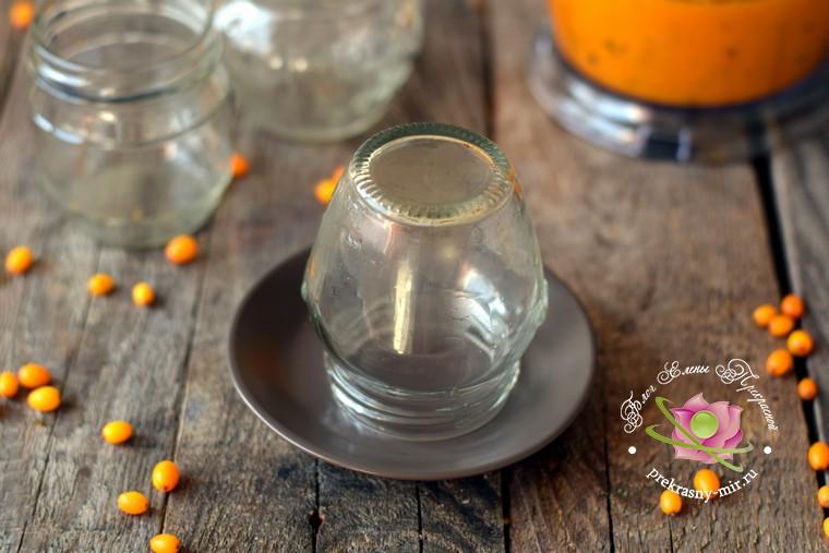Облепиха протертая с сахаром рецепт с фото в домашних условиях