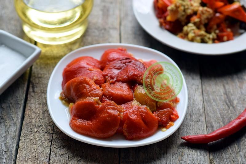 паста из болгарского перца рецепт в домашних условиях