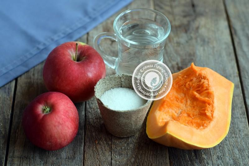 рецепт приготовления пюре из яблок на зиму