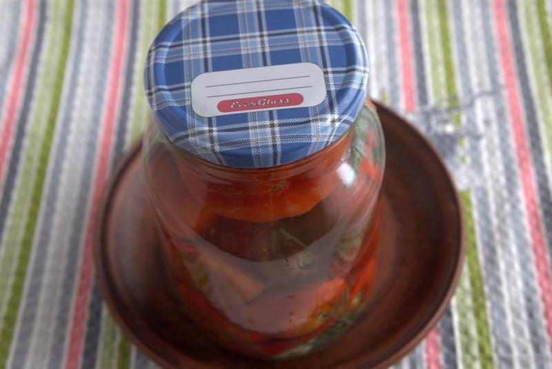 острые соленые помидоры на зиму рецепт приготовления