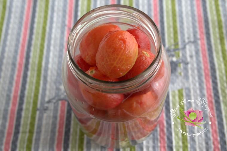 консервированные помидоры с базиликом домашний рецепт с фото