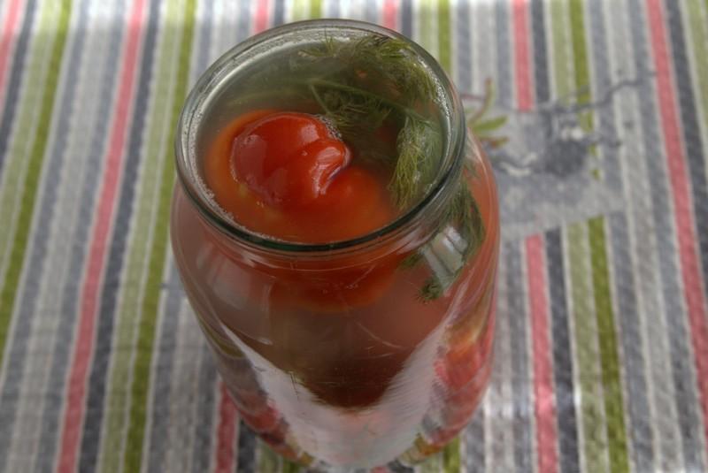 острые соленые помидоры на зиму рецепт