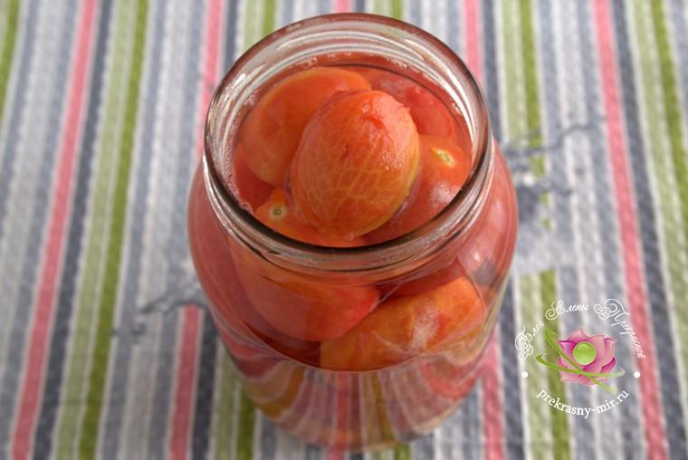 консервированные помидоры с базиликом рецепт в домашних условиях