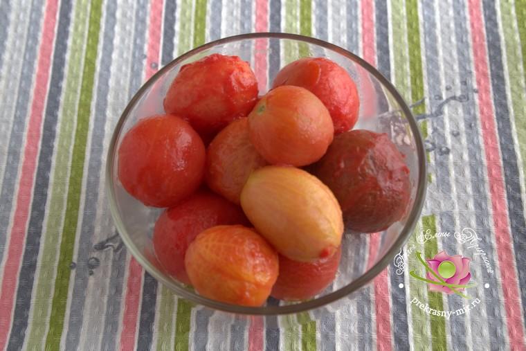 консервированные помидоры с базиликом рецепт