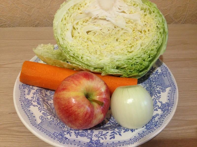 салат из савойской капусты: продукты