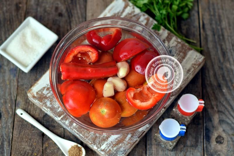 сырая аджика из помидор и перца рецепт