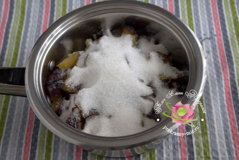 Грушевое варенье со сливой и кардамоном на зиму рецепт