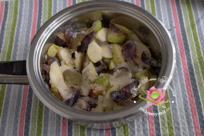 грушевое варенье со сливой и кардамоном рецепт в домашних условиях