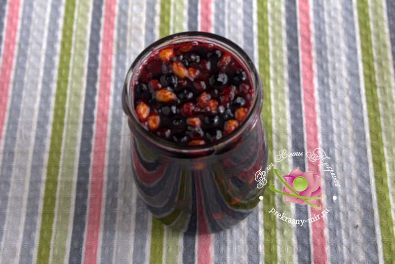 как приготовить Варенье из облепихи и черемухи рецепт в домашних условиях на зиму