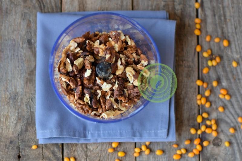 Облепиховое варенье с грецкими орехами рецепт