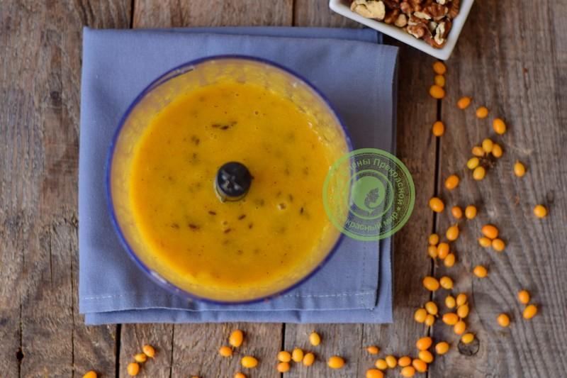 Облепиховое варенье с грецкими орехами рецепт в домашних условиях