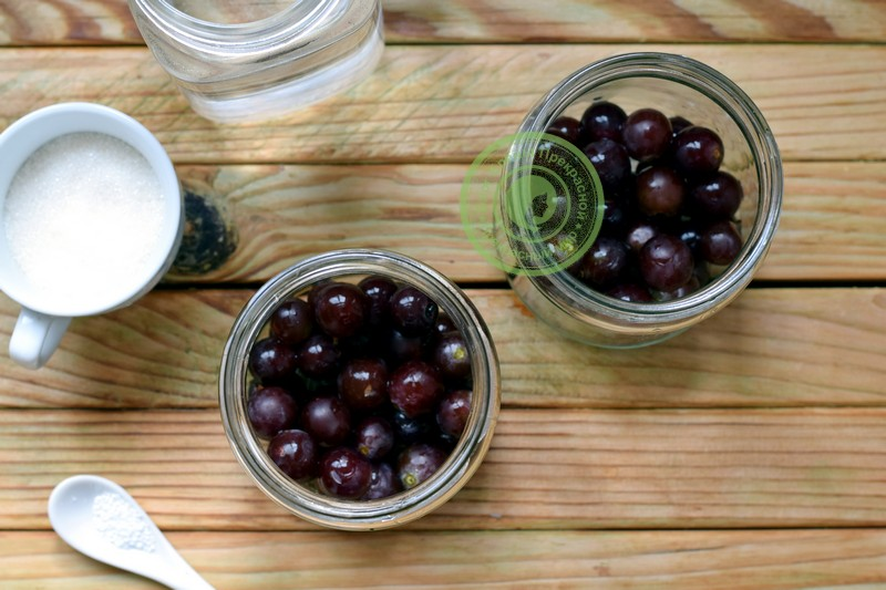 компот из винограда без стерилизации на зиму рецепт с фото