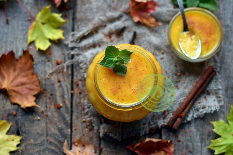 Тыквенный джем с апельсином рецепт в домашних условиях