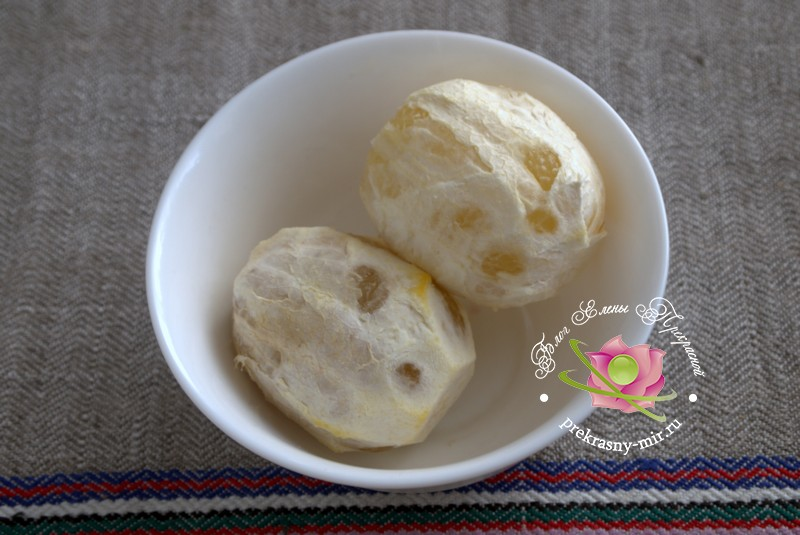 Джем из тыквы, калины и лимонов
