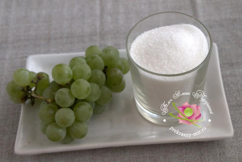 желе из винограда на зиму: продукты