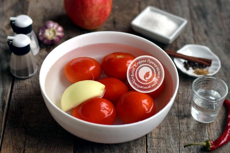 домашний кетчуп из помидор и яблок рецепт