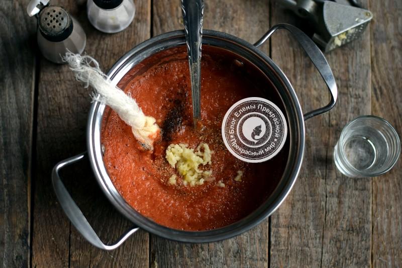 домашний кетчуп из помидор и яблок рецепт в домашних условиях
