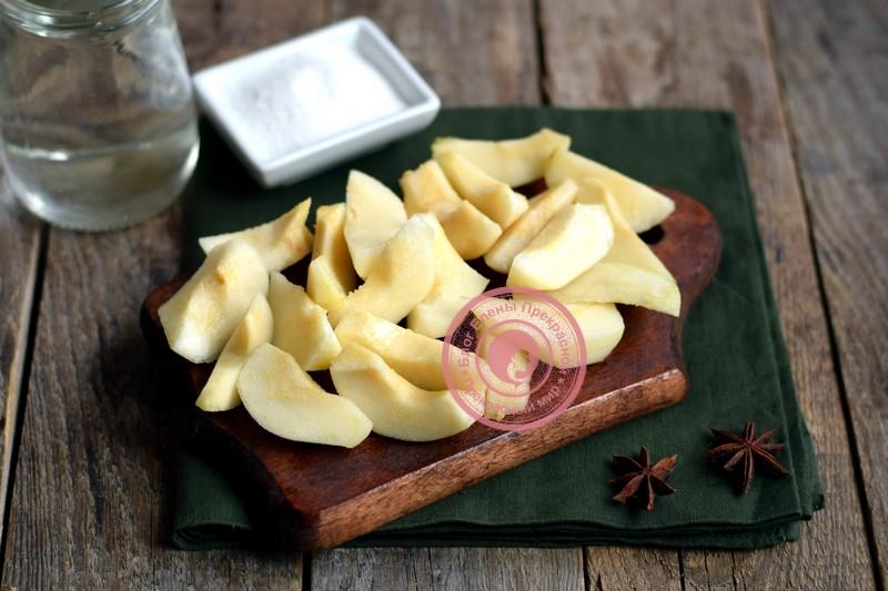 Компот из яблок и груш рецепт